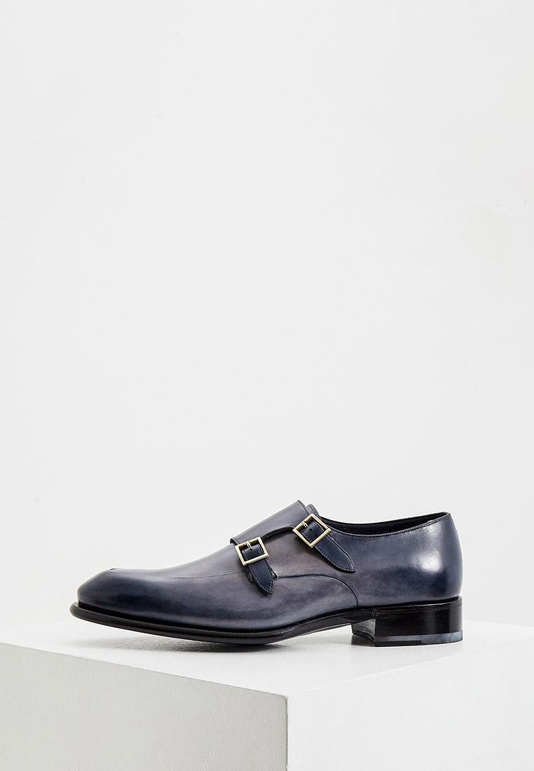 Мужские туфли Santoni MUCR16040MC1HBUS