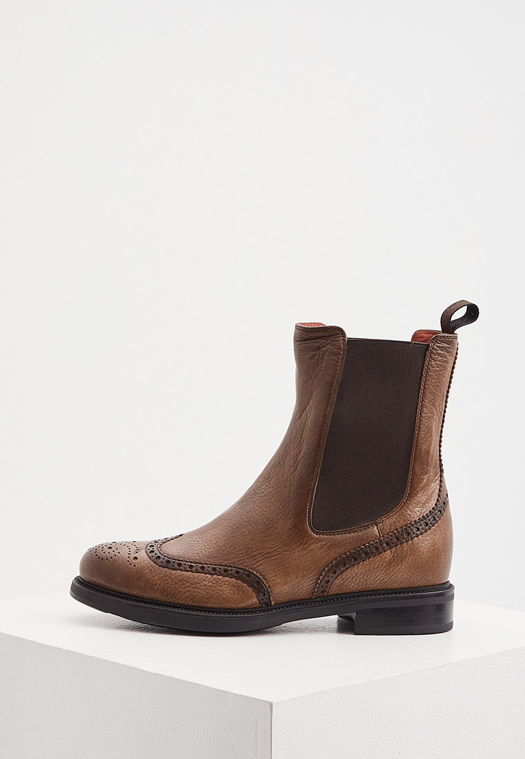 Женские ботинки Santoni WTKW57572SMOCEVH