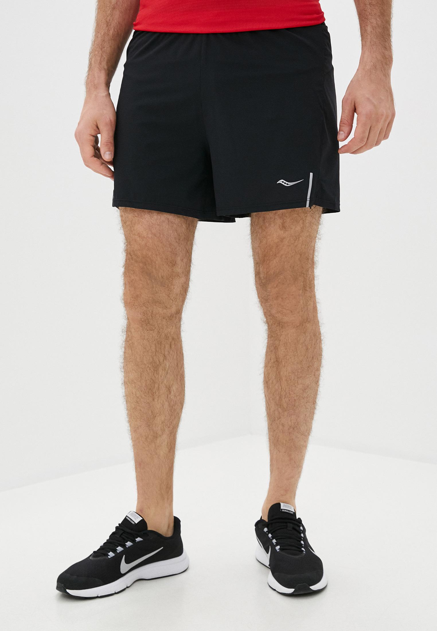 Мужские спортивные шорты Saucony SAM800210-BK