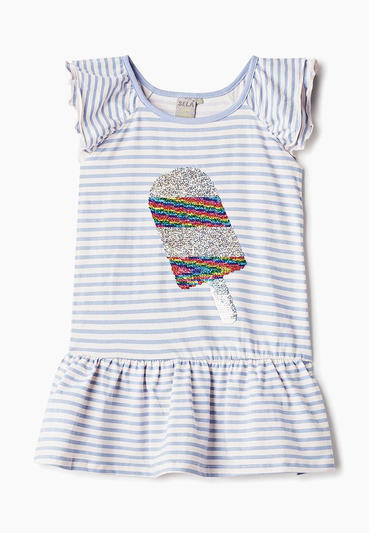 Повседневное платье Sela (Сэла) Dksl-517/463-9214