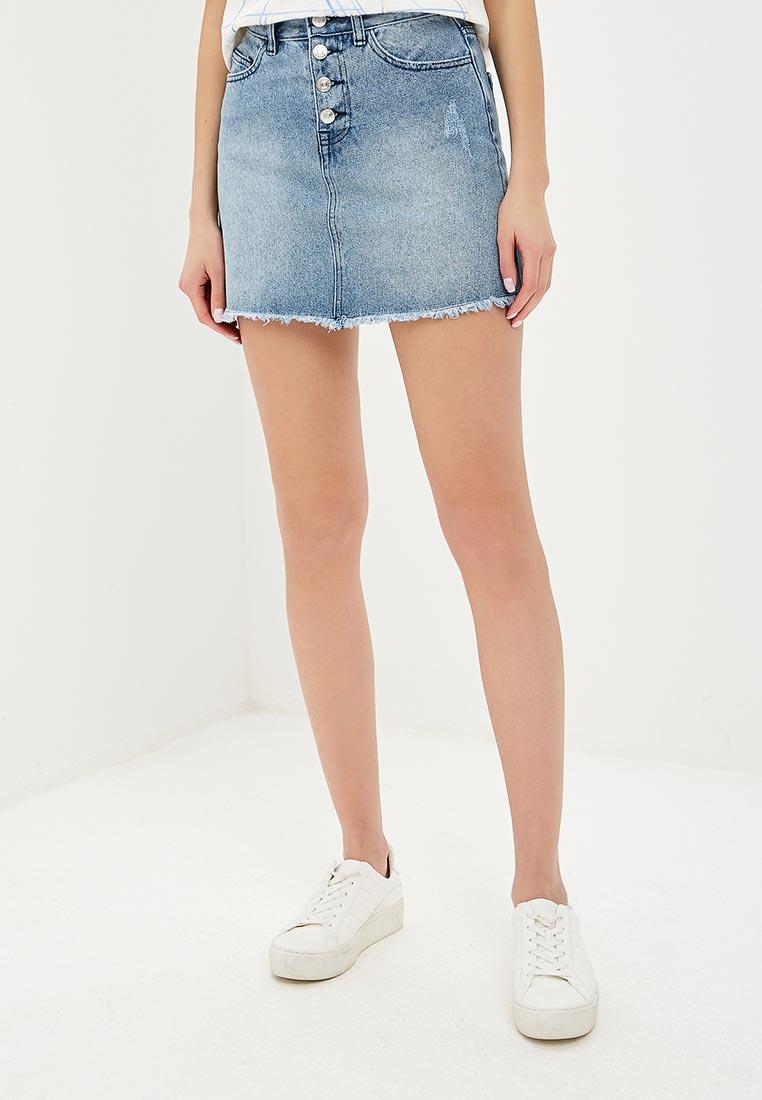 Джинсовая юбка Sela (Сэла) SKJ-338/005-9253