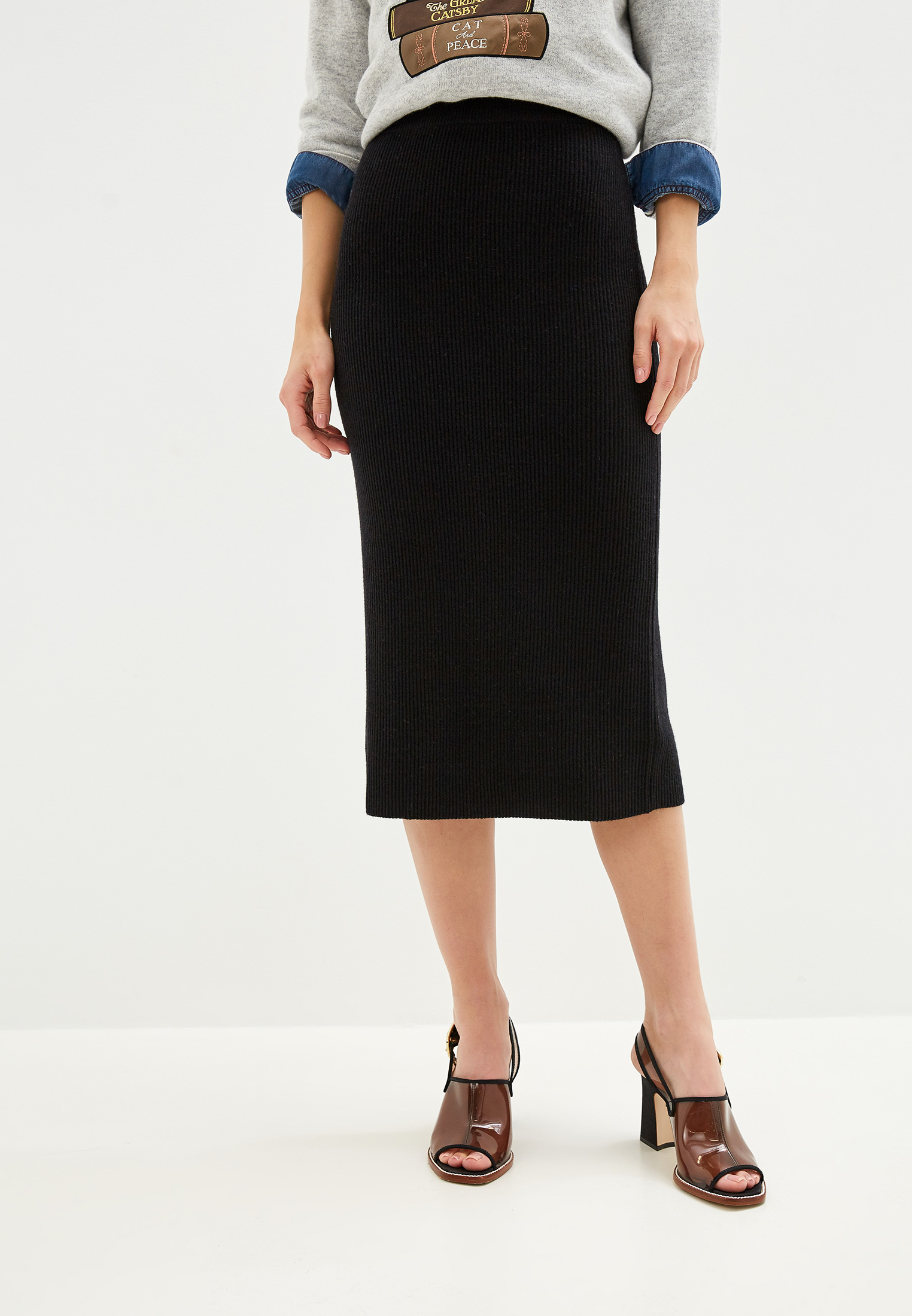 Прямая юбка Seventy GO0442