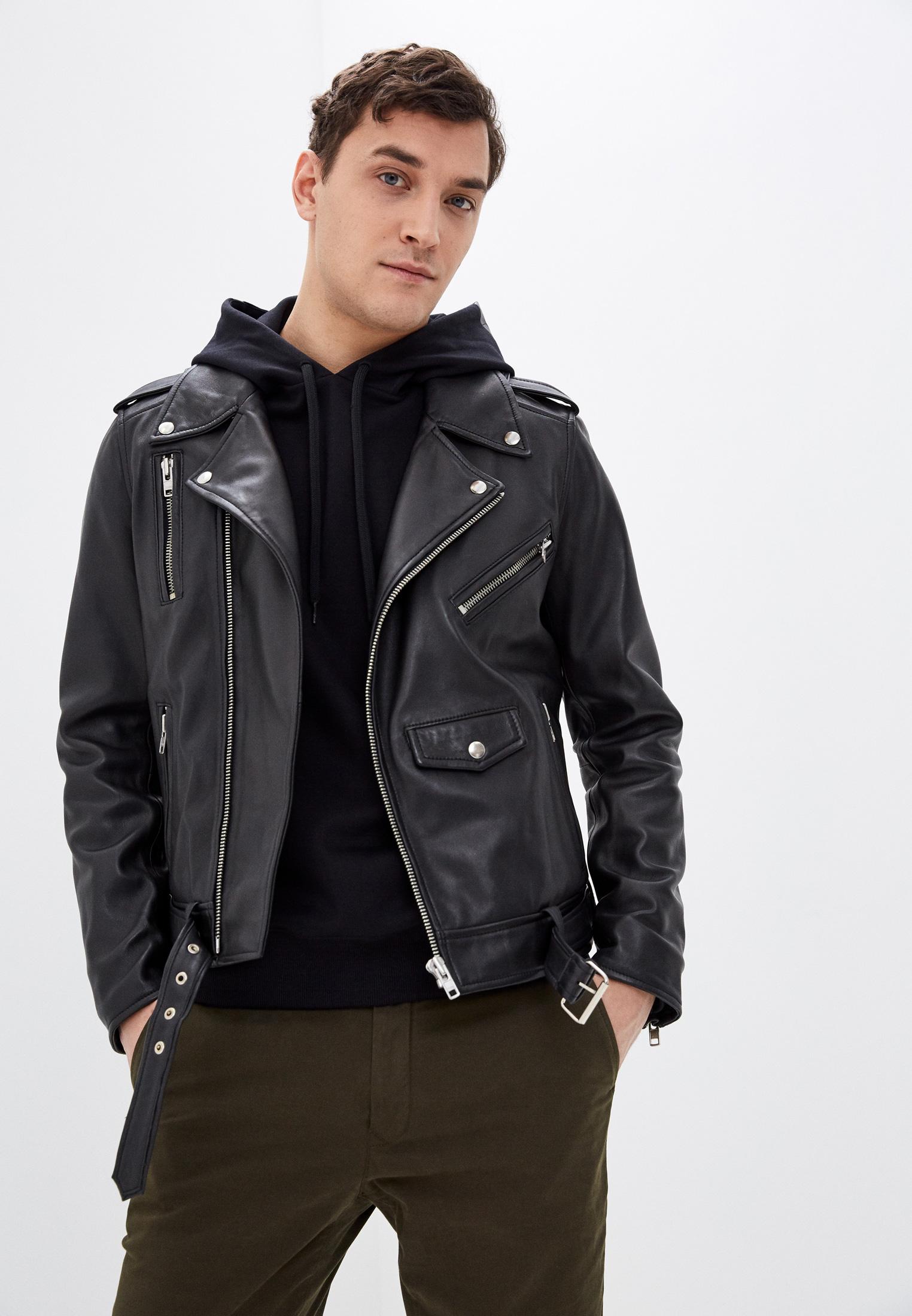 Кожаная куртка Serge Pariente style 17