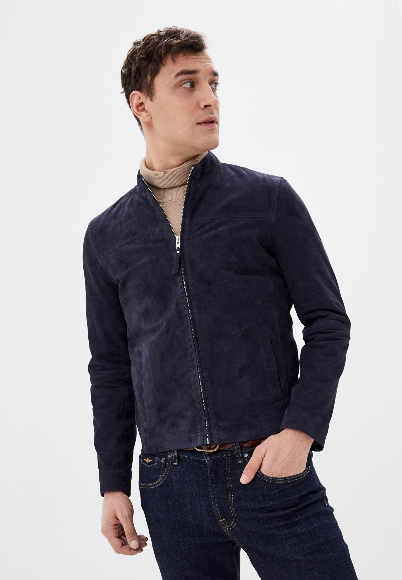 Кожаная куртка Serge Pariente sylvino
