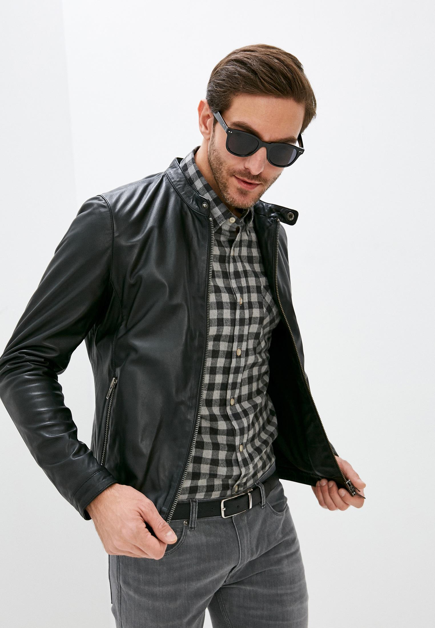 Кожаная куртка Serge Pariente style21