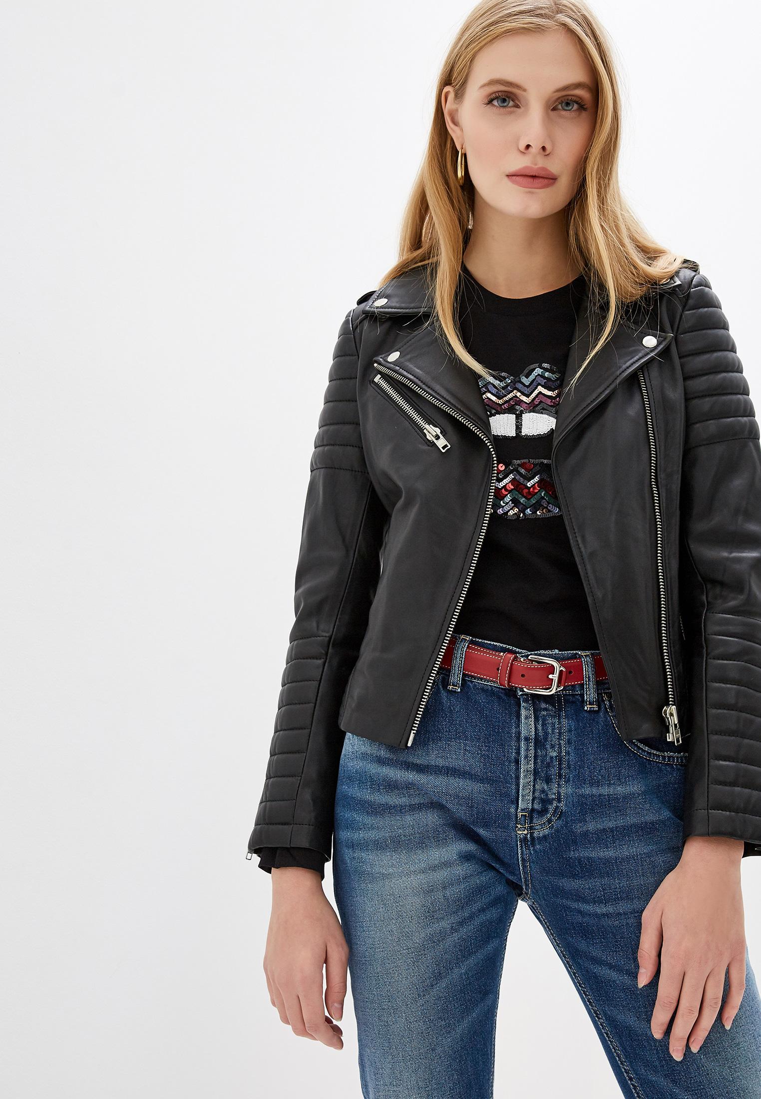 Кожаная куртка Serge Pariente HIPSTER GIRL