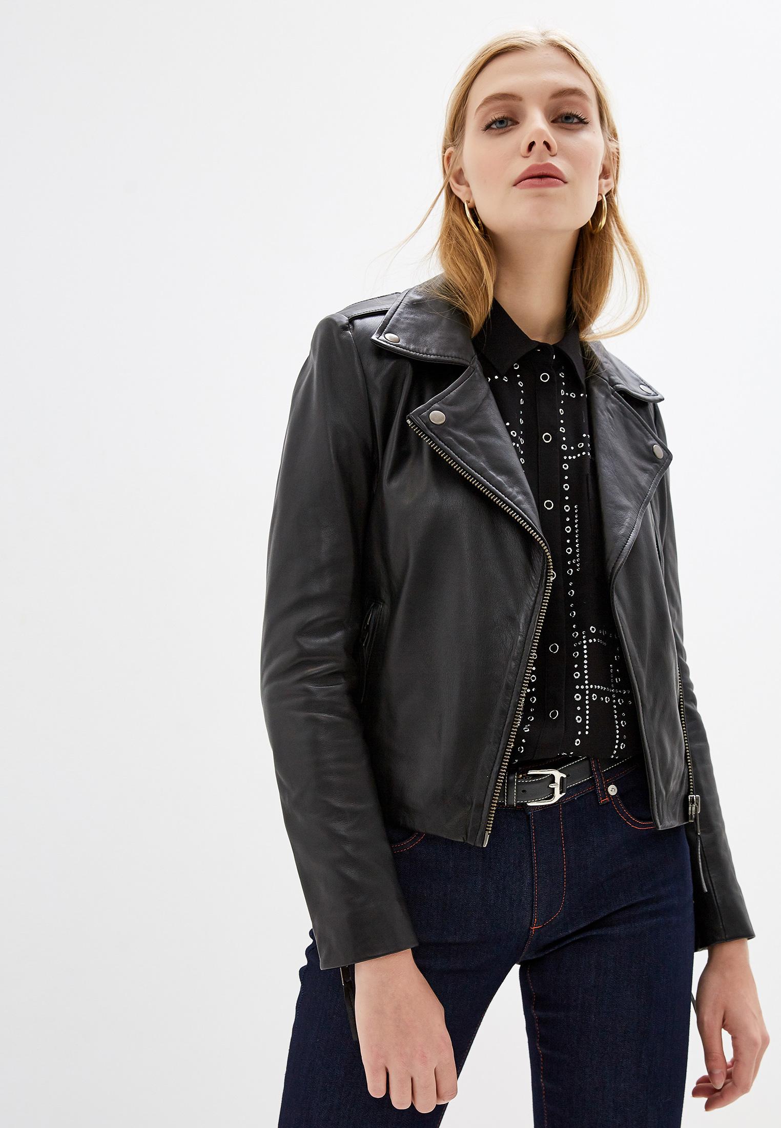 Кожаная куртка Serge Pariente CITY GIRL