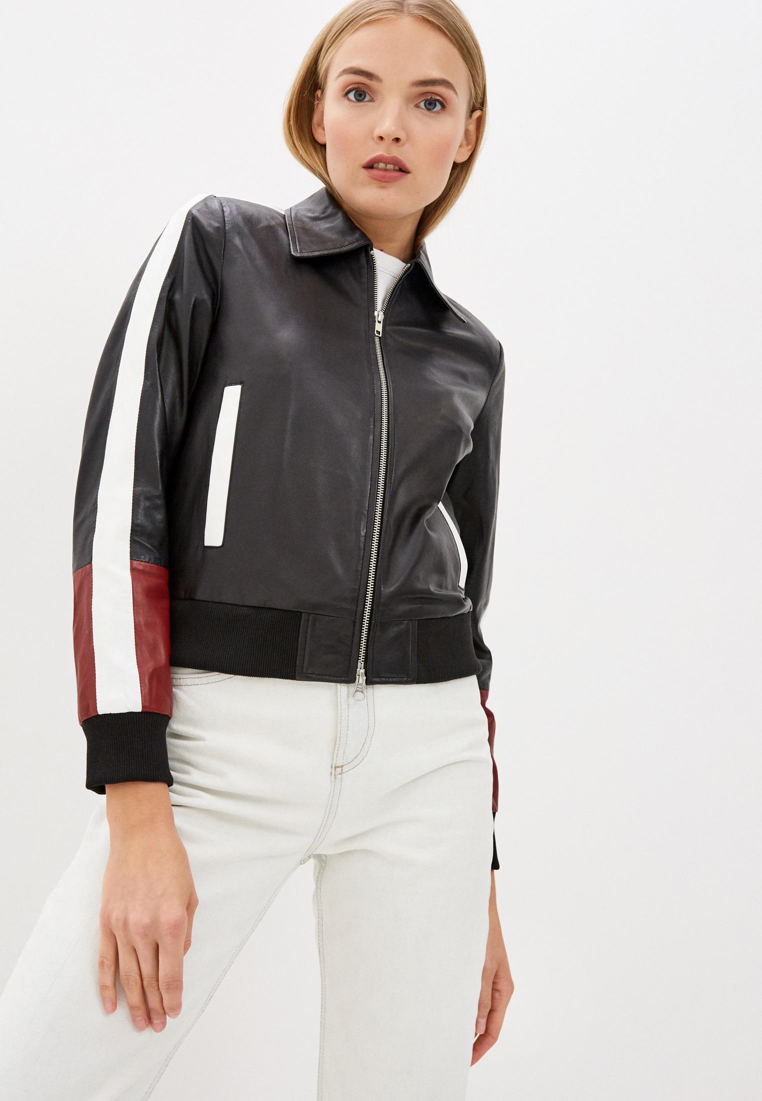 Кожаная куртка Serge Pariente STREET GIRL OVER SIZE