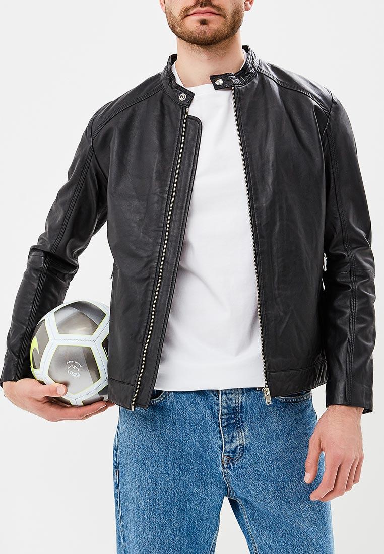 Кожаная куртка Selected Homme 16063301