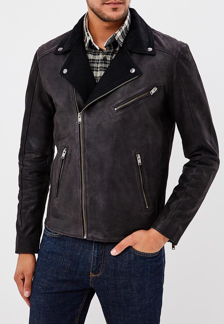 Кожаная куртка Selected Homme 16063315