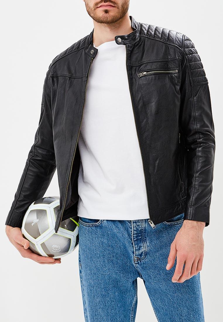 Кожаная куртка Selected Homme 16064353