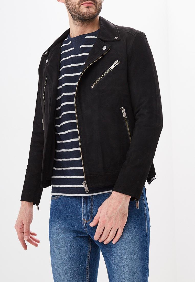 Кожаная куртка Selected Homme 16065839