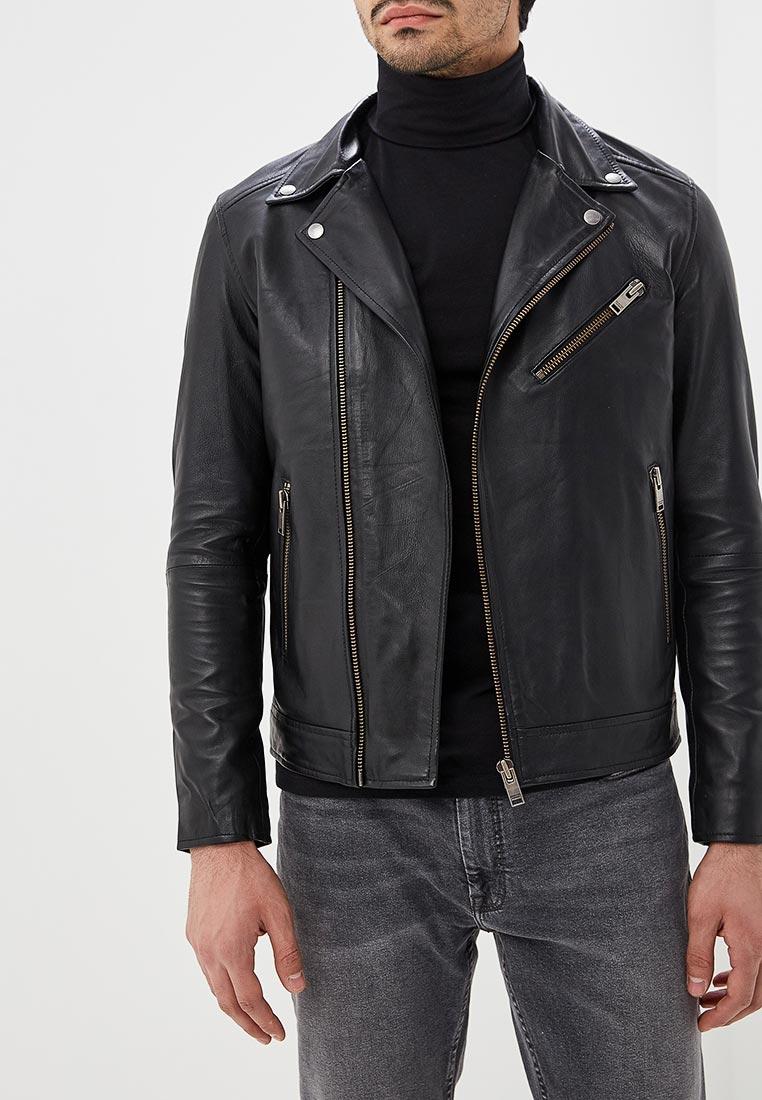 Кожаная куртка Selected Homme 16065840