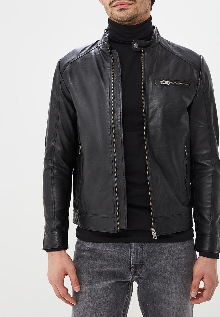 Кожаная куртка Selected Homme 16067129