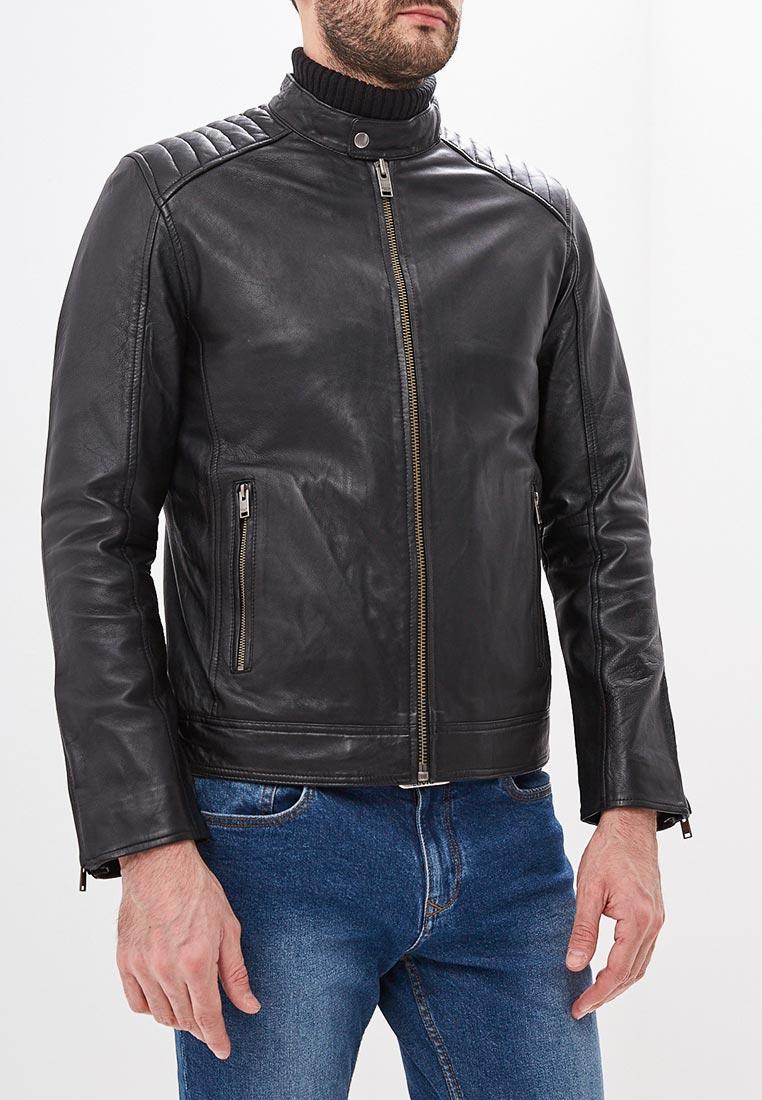 Кожаная куртка Selected Homme 16067130