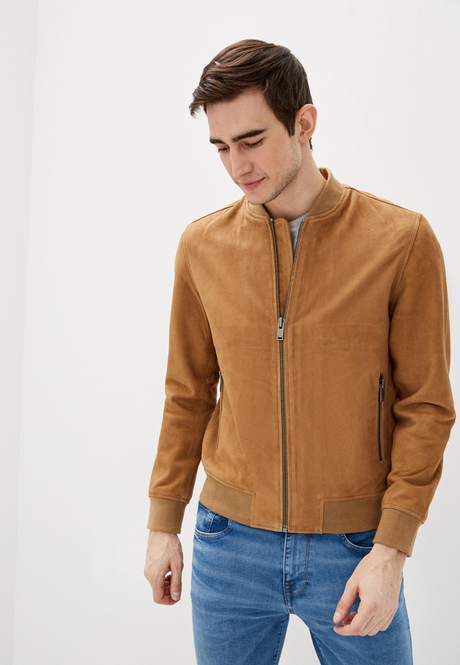 Кожаная куртка Selected Homme 16065843
