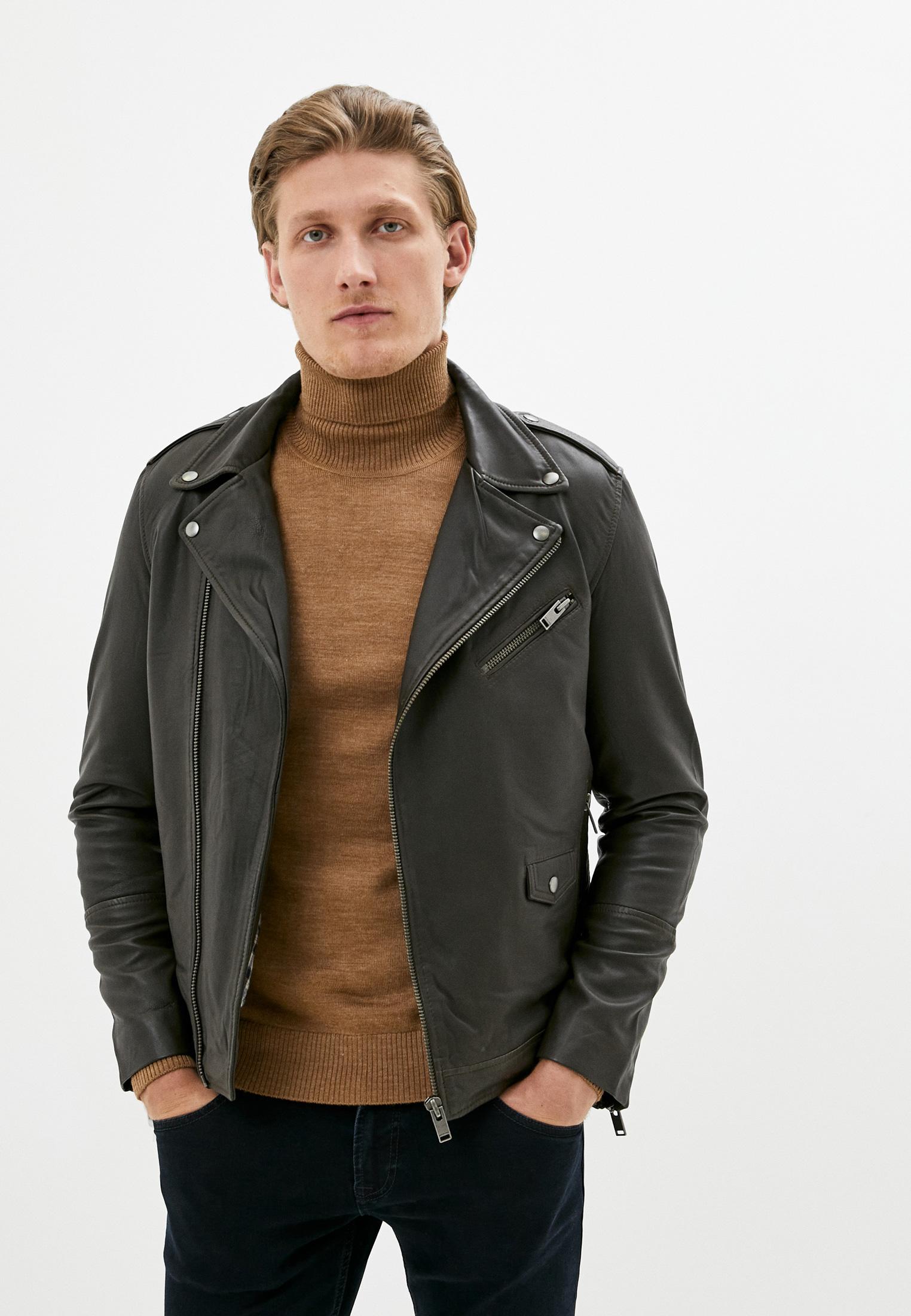 Кожаная куртка Selected Homme 16074422