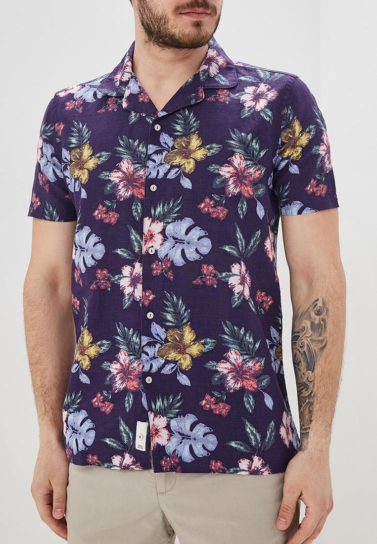 Рубашка с коротким рукавом Sisley 5FL55QE59