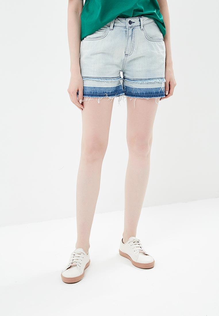 Женские джинсовые шорты Sisley (Сислей) 4P9P59266
