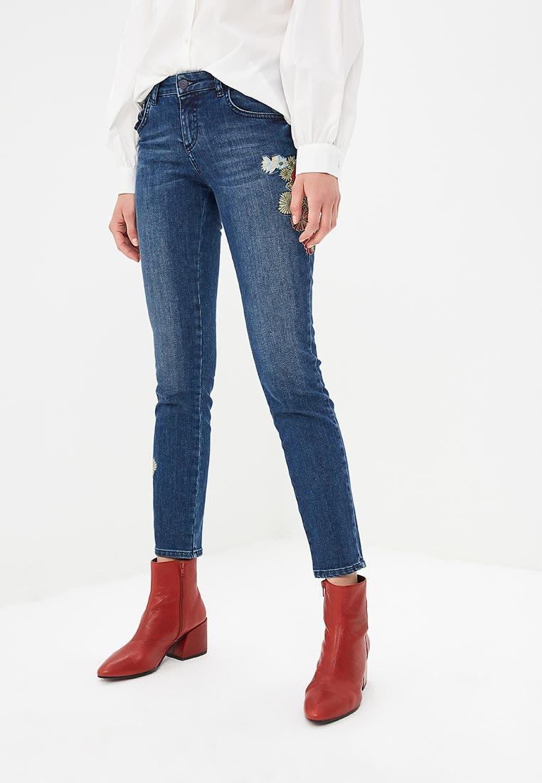 Зауженные джинсы Sisley (Сислей) 4Y7V574H6