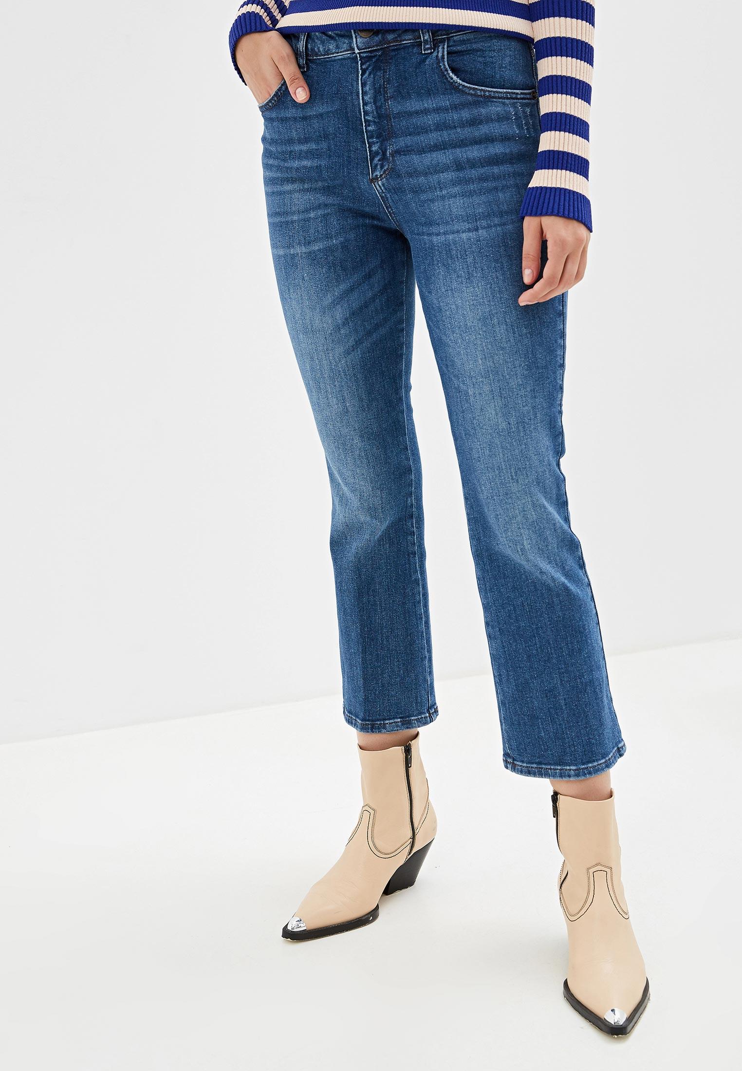 Широкие и расклешенные джинсы Sisley (Сислей) 4HD957566