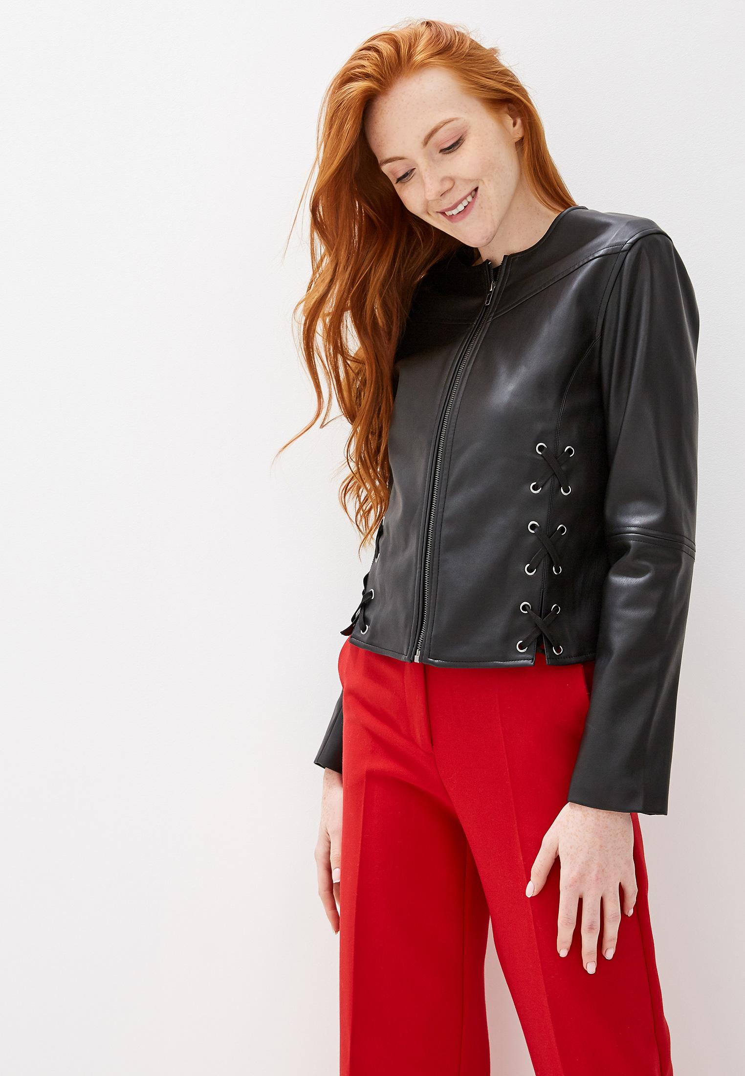 Кожаная куртка Sisley (Сислей) 2AND536T6