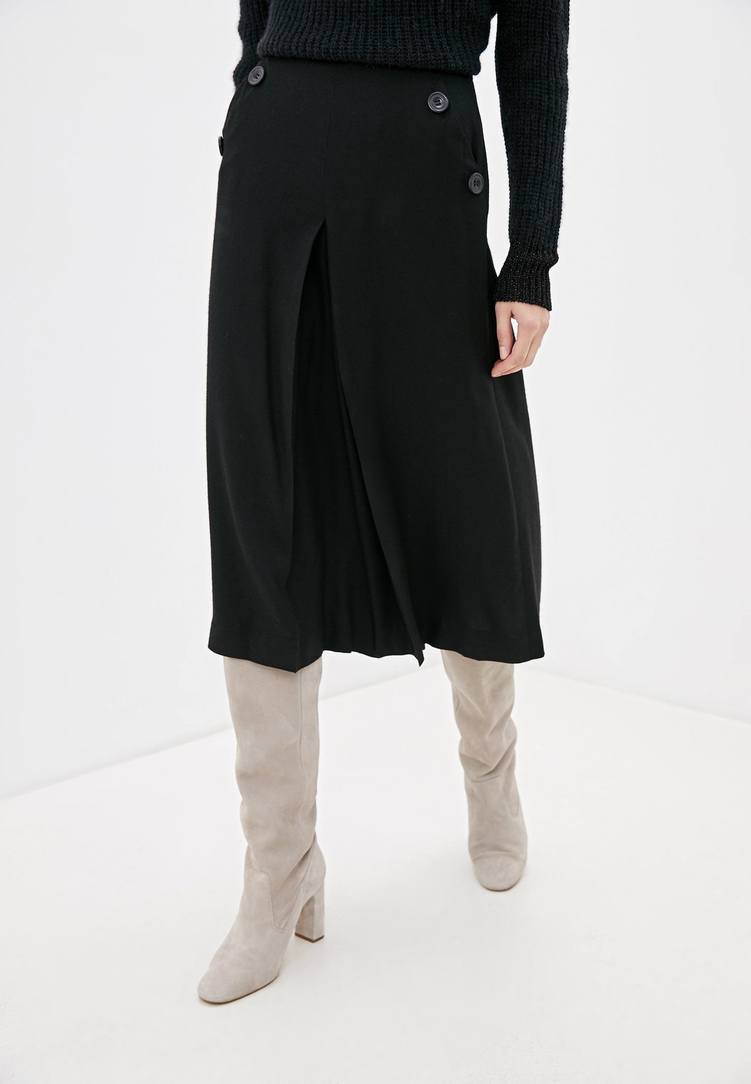 Женские широкие и расклешенные брюки Sisley (Сислей) 4DQS55A27