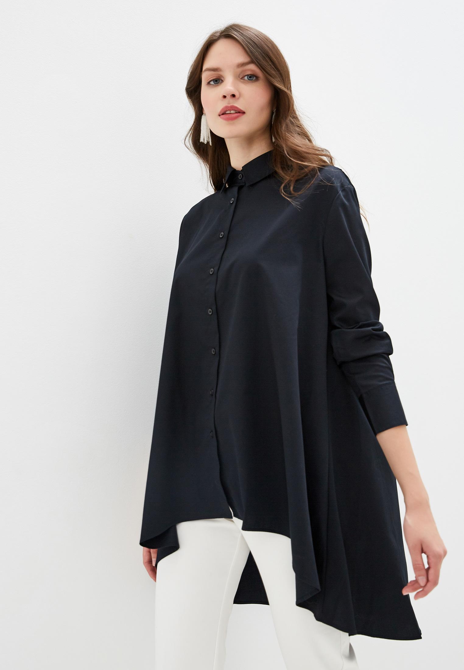 Женские рубашки с длинным рукавом Sisley (Сислей) 5MR55QC17