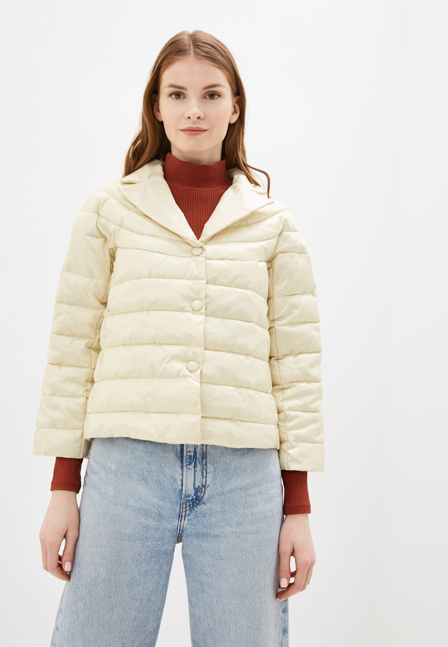 Утепленная куртка Sisley (Сислей) 2JW153756
