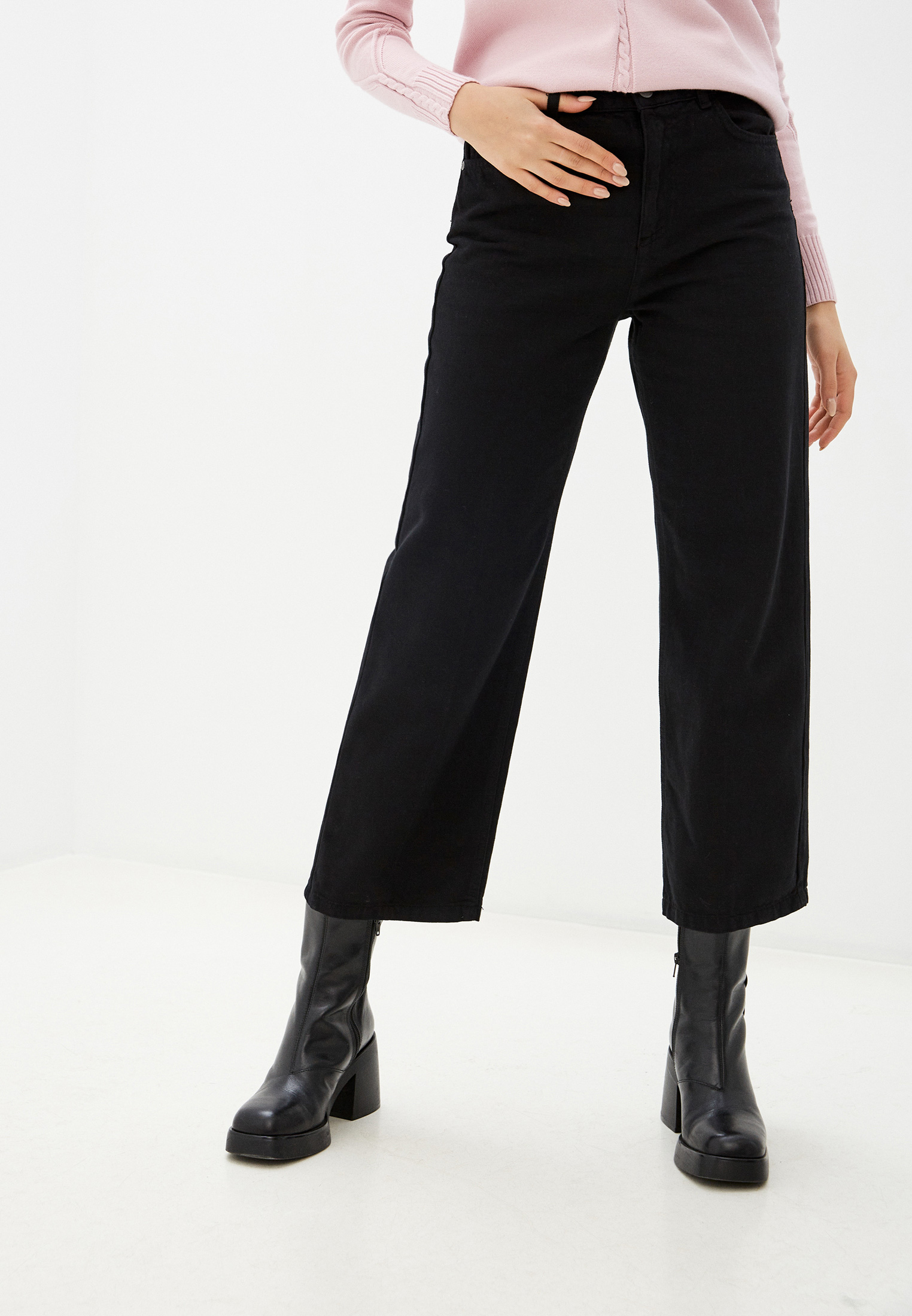 Прямые джинсы Sisley (Сислей) 44QP576C6