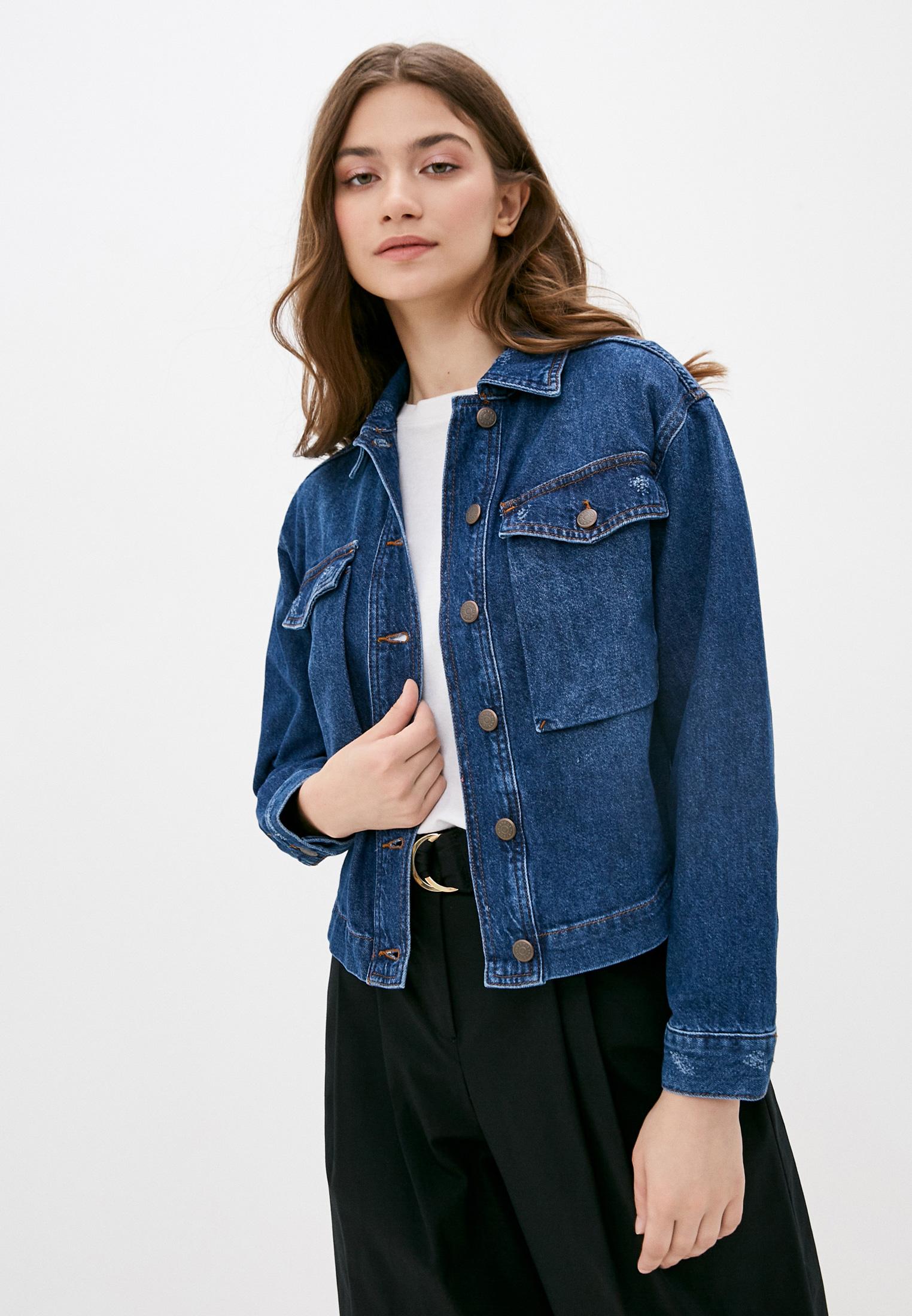 Джинсовая куртка Sisley (Сислей) 2AUK537M6