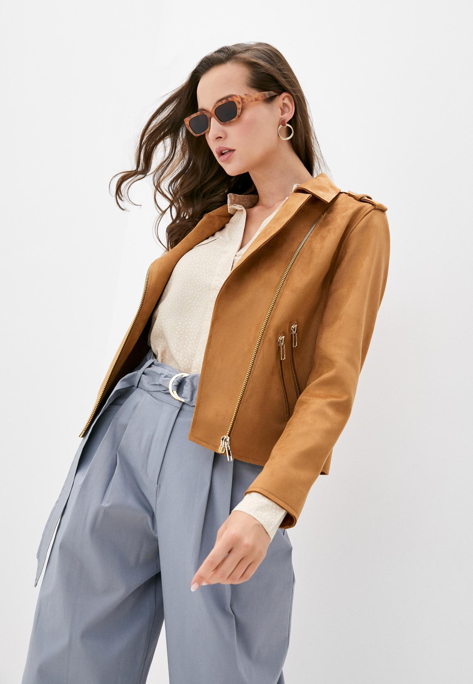 Кожаная куртка Sisley (Сислей) 2KP5536U7