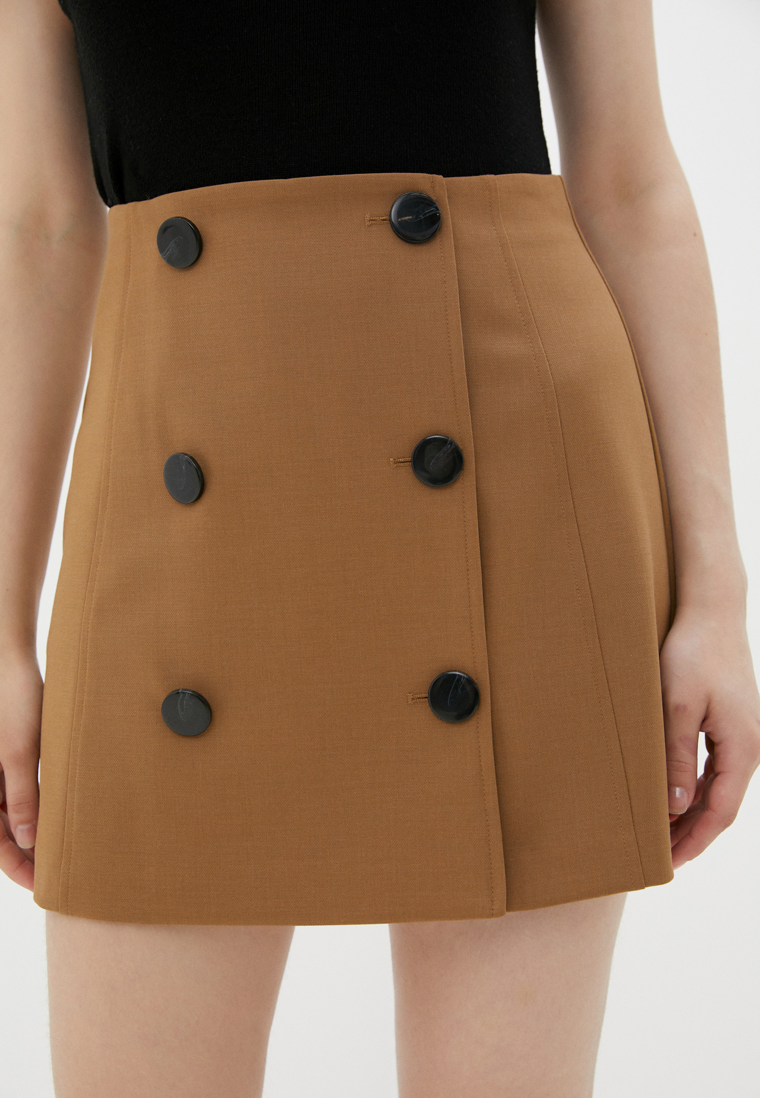 Широкая юбка Sisley (Сислей) 4BFQ50646