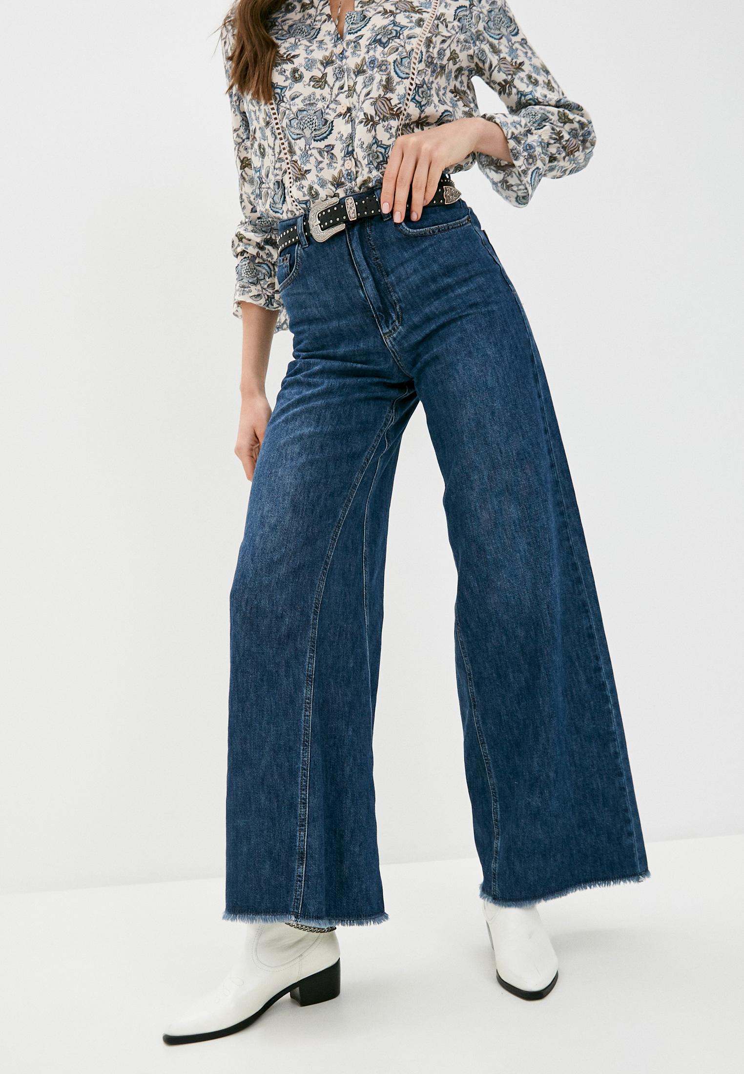 Широкие и расклешенные джинсы Sisley (Сислей) 4OF555A96