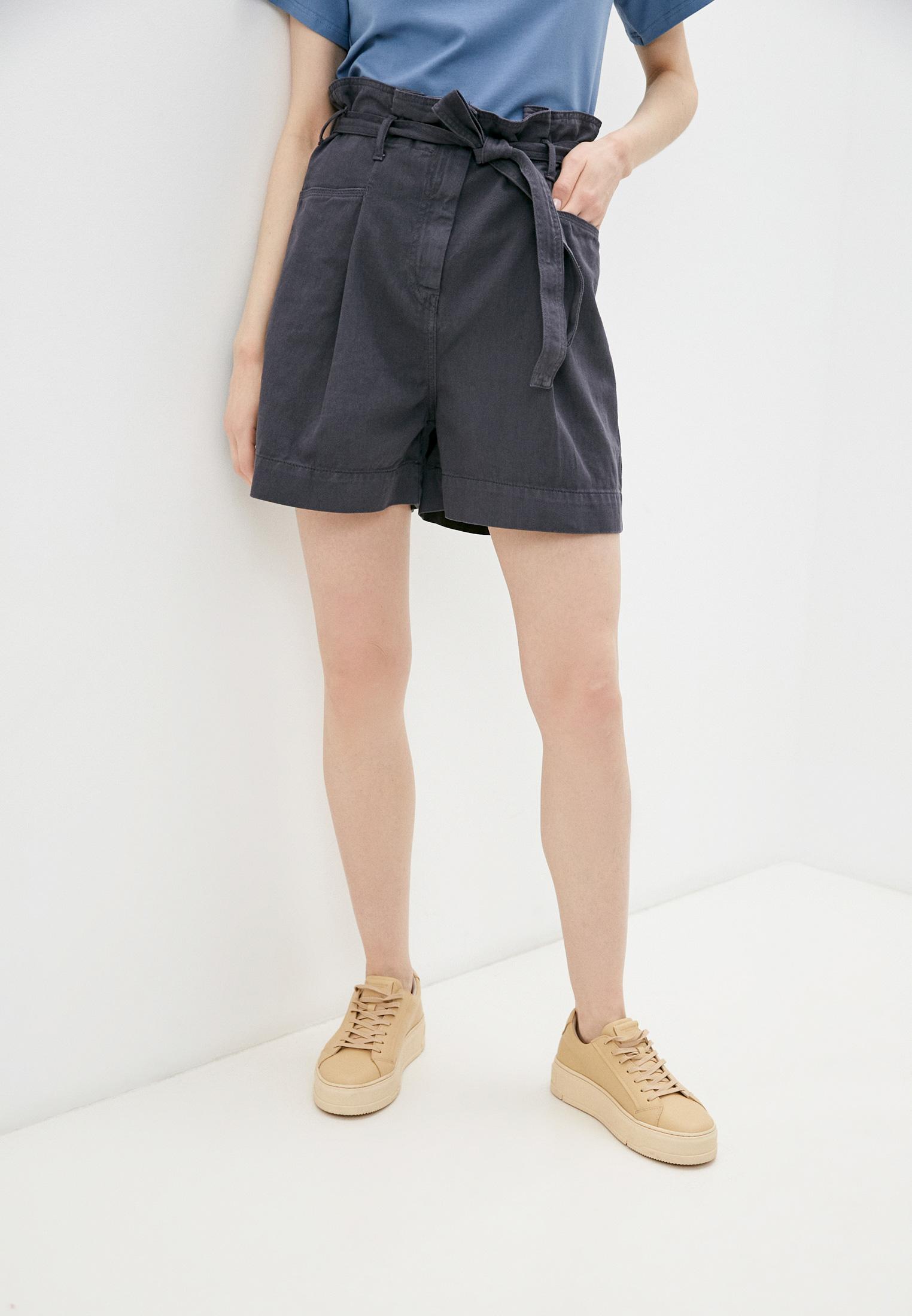 Женские джинсовые шорты Sisley (Сислей) 4ZN5592K7