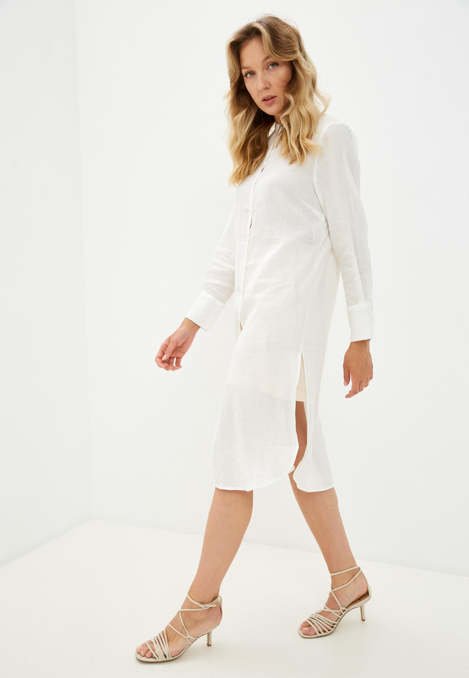 Женские рубашки с длинным рукавом Sisley (Сислей) Платье Sisley
