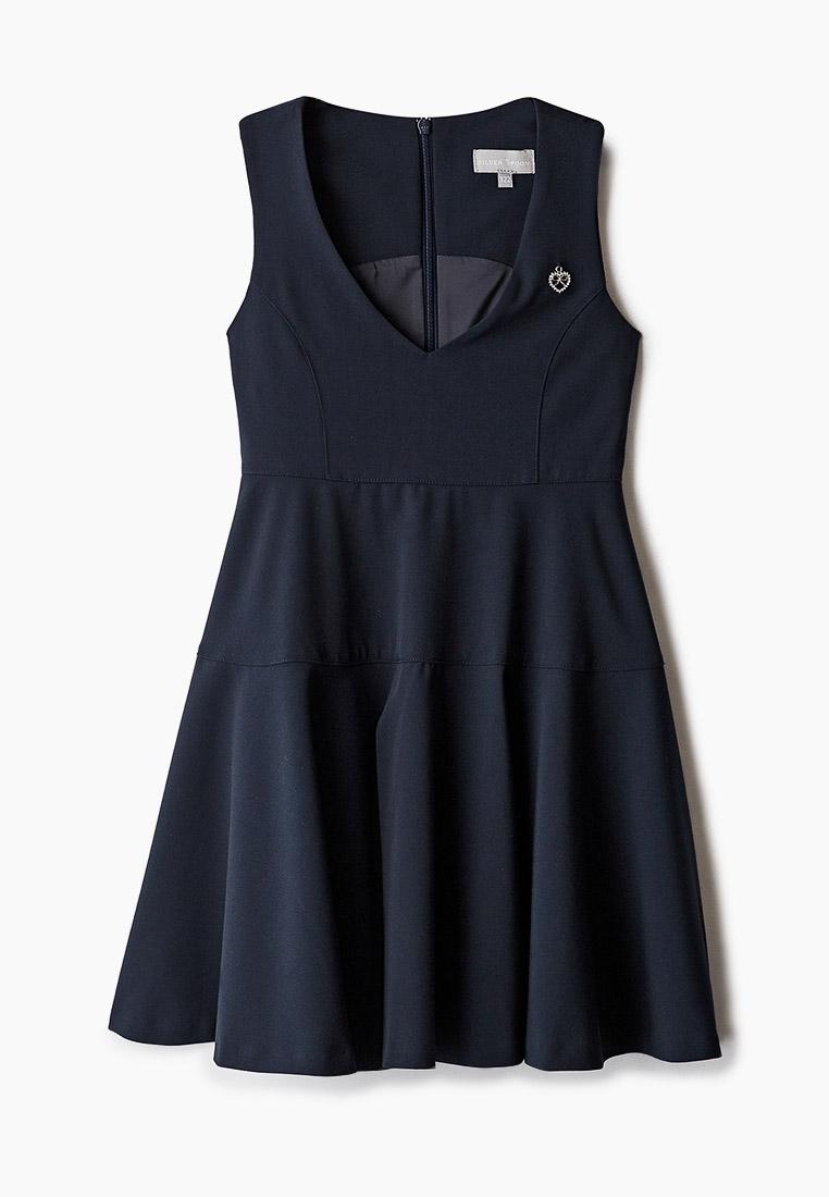 Повседневное платье SILVER SPOON SSFSG-029-23701-306