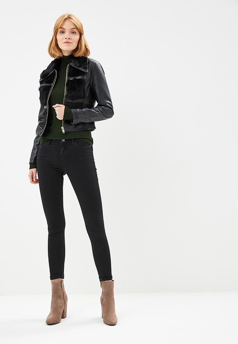 Кожаная куртка Silvian Heach CVA17045GB: изображение 2