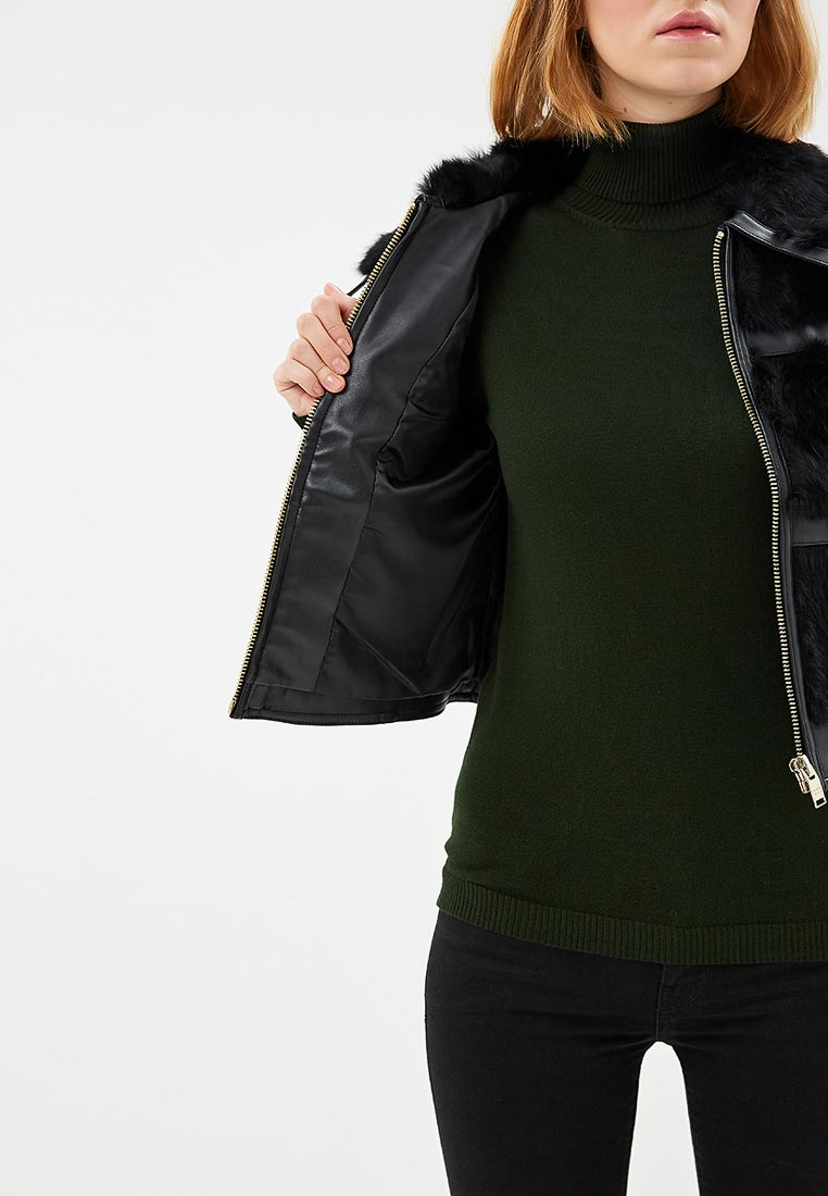 Кожаная куртка Silvian Heach CVA17045GB: изображение 4