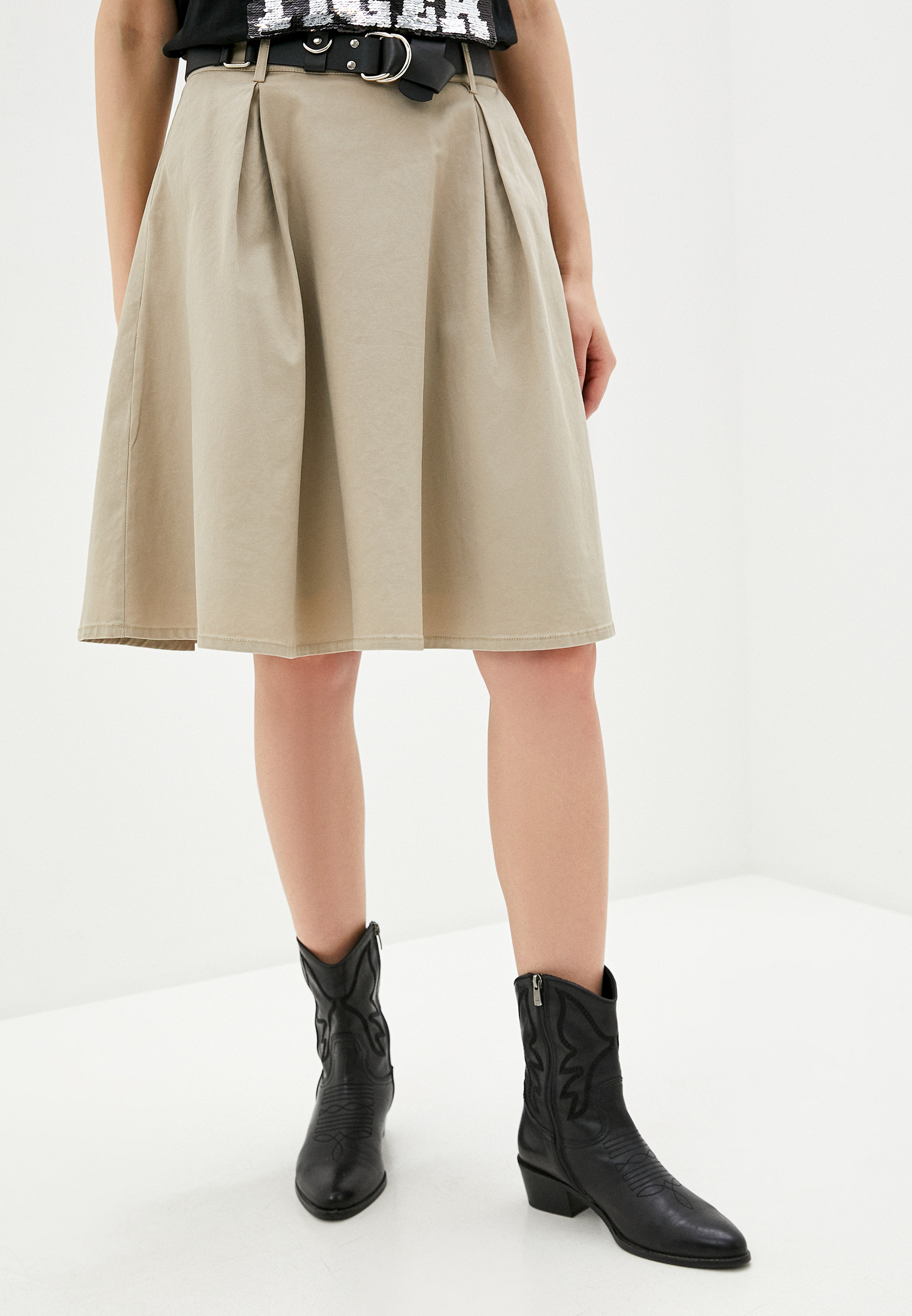 Широкая юбка Silvian Heach CVP20158GO