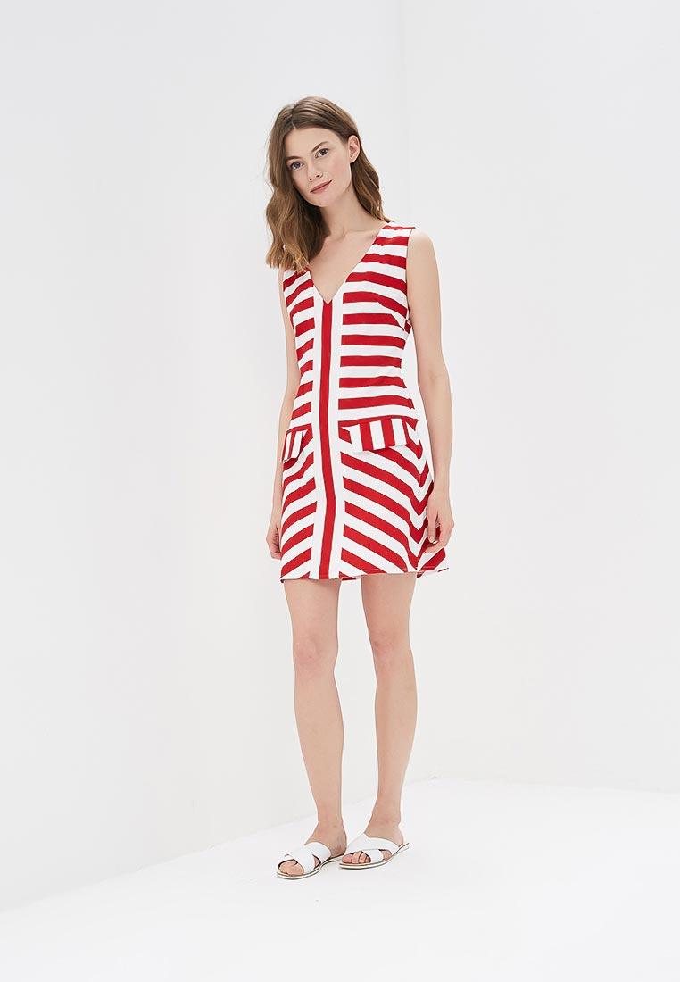 Платье SK House #2211-2180крас.: изображение 5