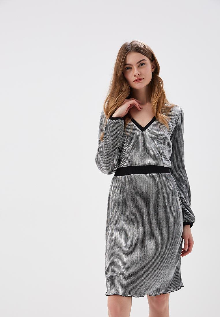Вечернее / коктейльное платье SK House #2211-2299 серебро