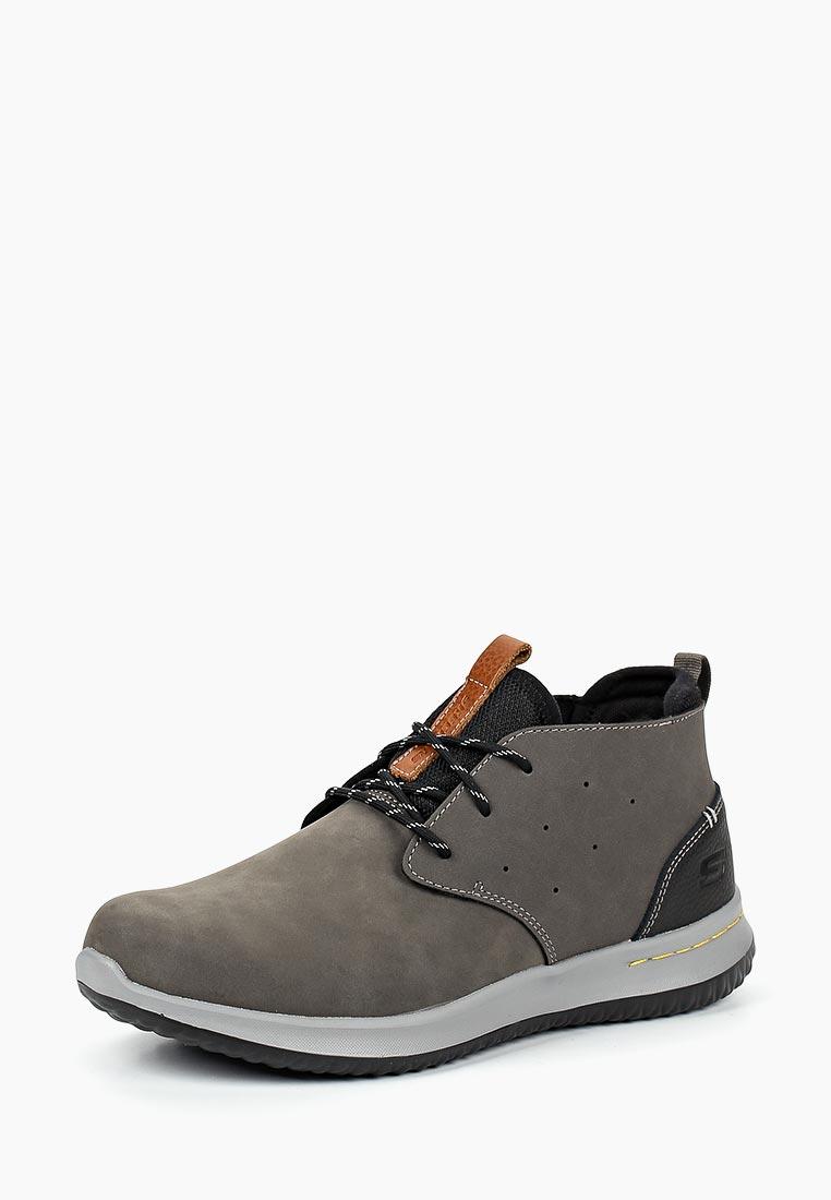 Мужские ботинки Skechers (Скетчерс) 65695