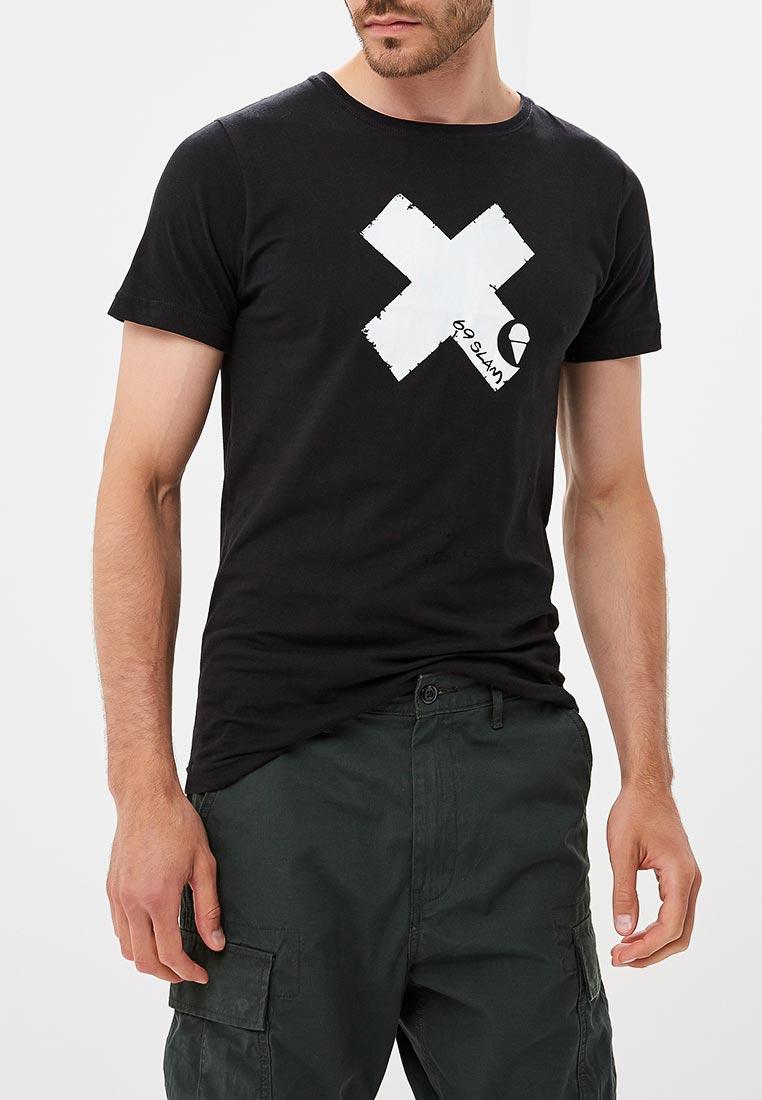 Спортивная футболка 69slam (69 Слам) MTSXCR-BK