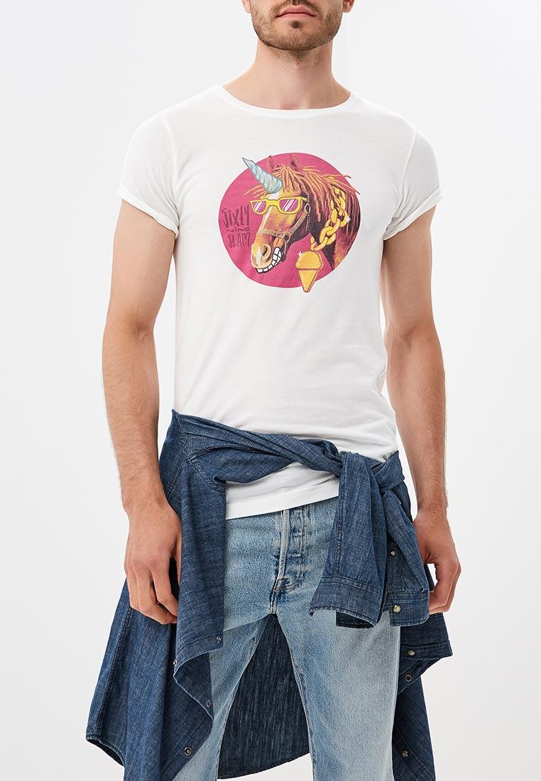 Спортивная футболка 69slam (69 Слам) MTRHOR-WH
