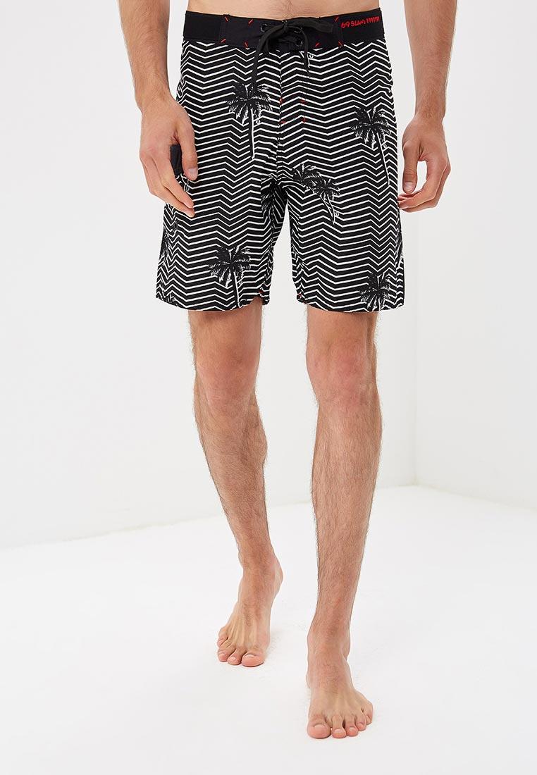Мужские шорты для плавания 69slam (69 Слам) SLLIDZ-PM