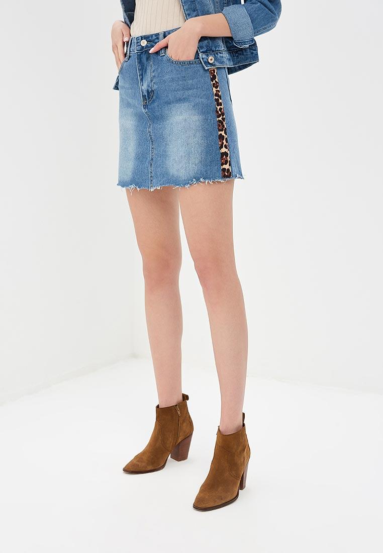 Джинсовая юбка Softy K9217
