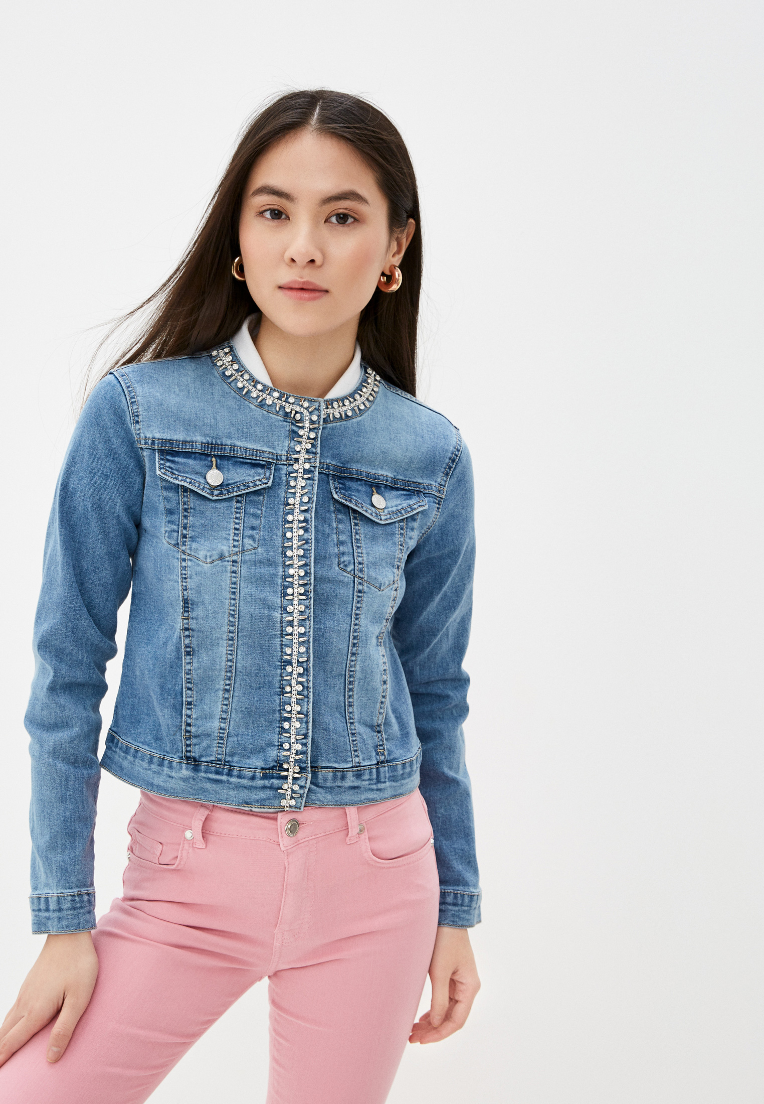 Джинсовая куртка Softy K20218