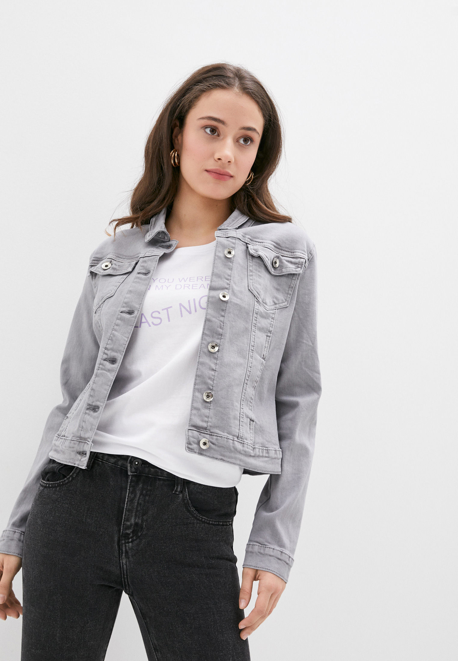 Джинсовая куртка Softy M6150