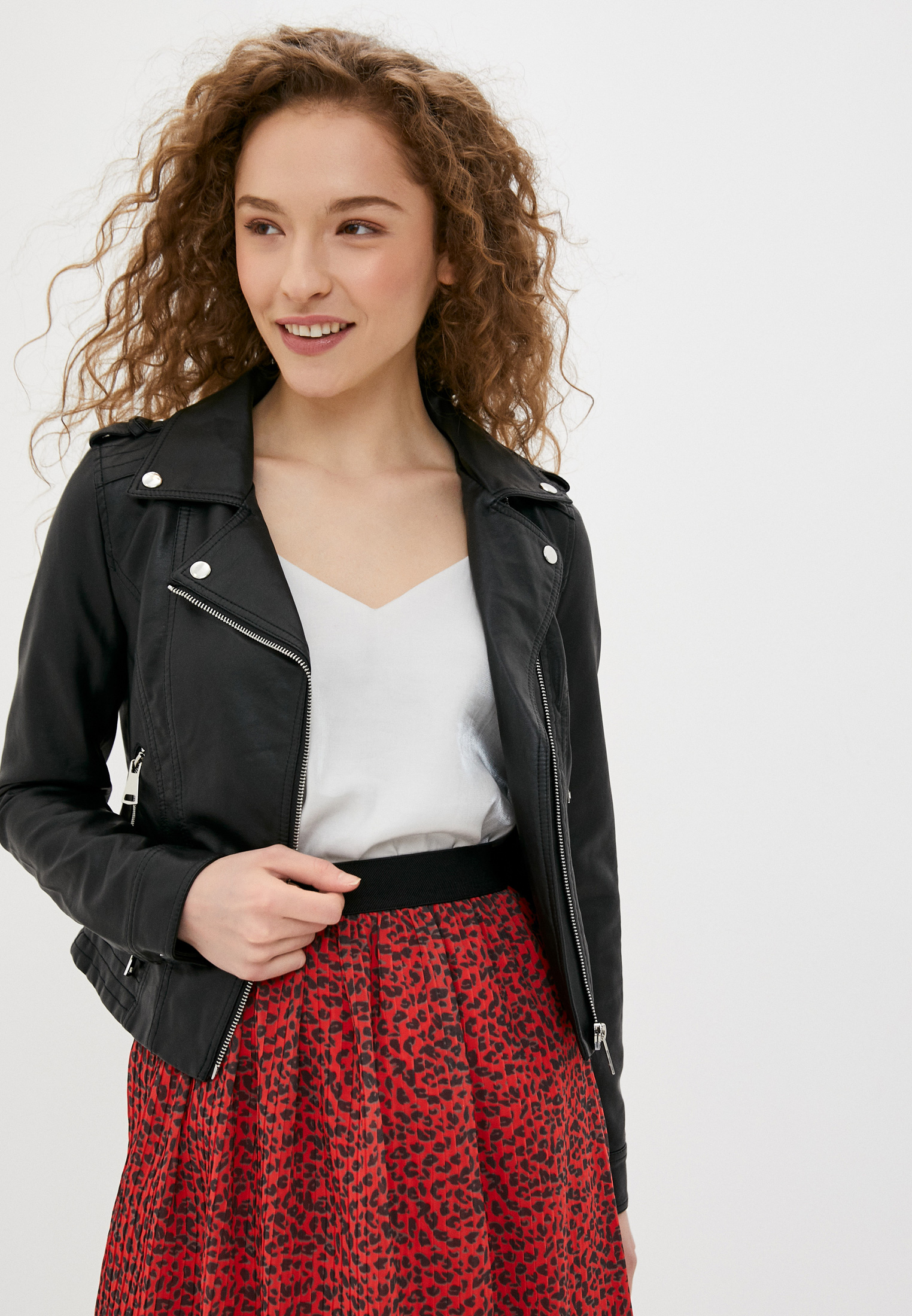 Кожаная куртка Softy S20502